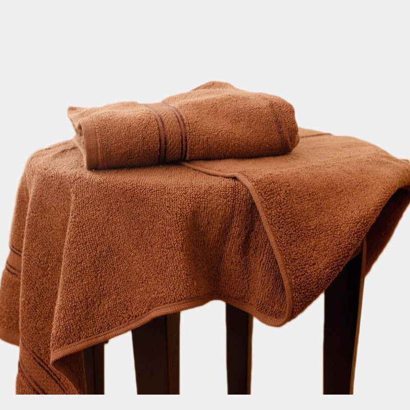Egyptian Cotton Towel Chocolate Brown One Piece