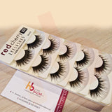 931 Red Cherry Human Hair Eyelashes