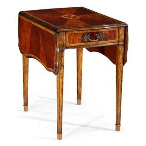 Touchwood Interior Antique Mahogany End Table