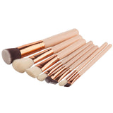Fashion Soft Fiber Professional 8 Piece Brushes Set in Pakistan