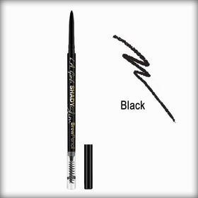 Black Shady Slim Brow Pencil - L.A. Girl