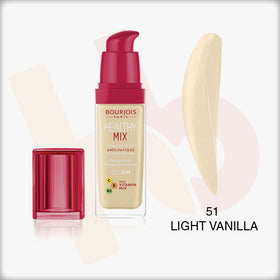 Bourjois Healthy Mix Foundation #51 LIGHT VANILLA 30ml