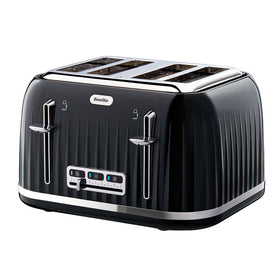 Breville Uk Impressions 4 Slice Toaster Black Uk