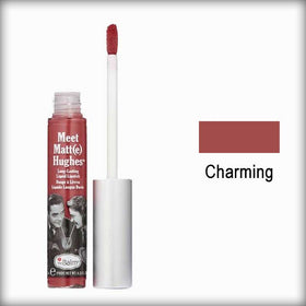 the Balm Meet Matte Hughes Liquid Lipstick Charming