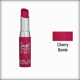 MUA Sweet Sheen Lip Balm Cherry Bomb
