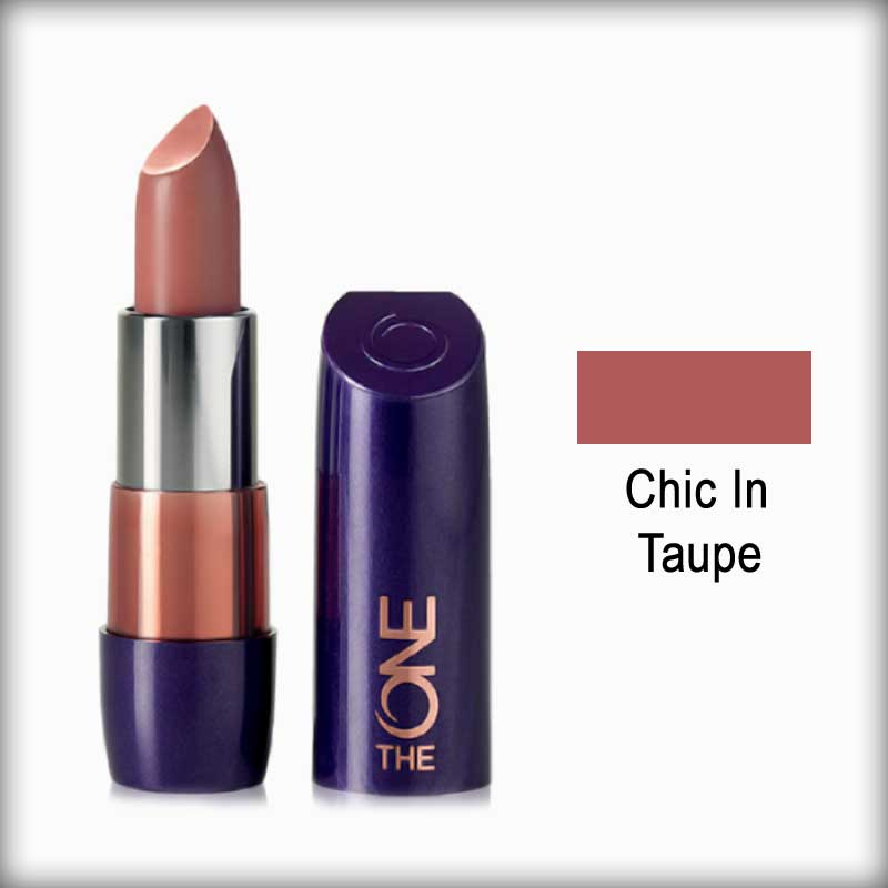 The One 5-In-1 Colour Stylist Lipstick Chic In Taupe