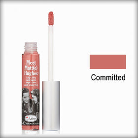 the Balm Meet Matte Hughes Liquid Lipstick Committed