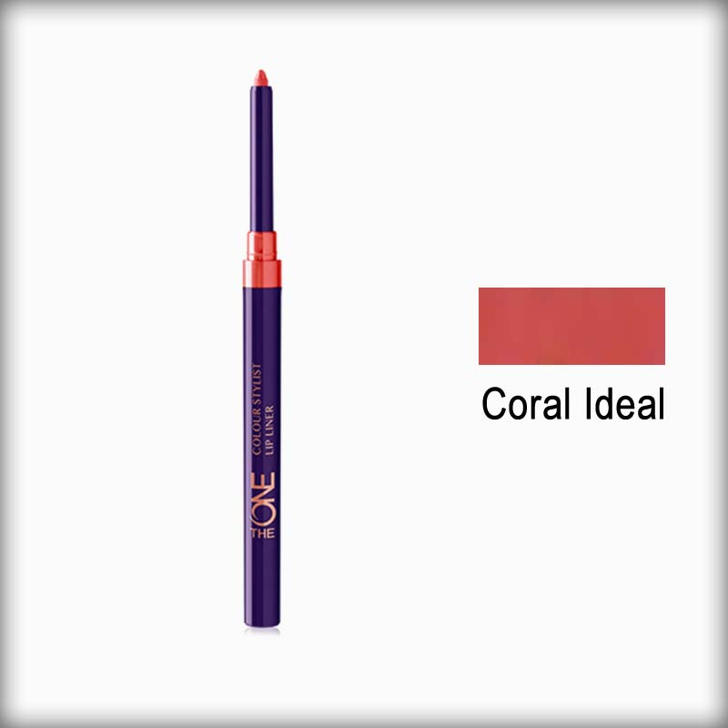 The One Colour Stylist Lip Liner Coral Ideal