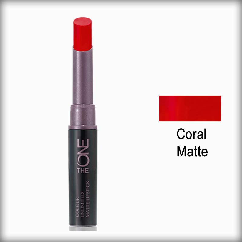 The One Color Unlimited Matte Lipstick Coral Matte