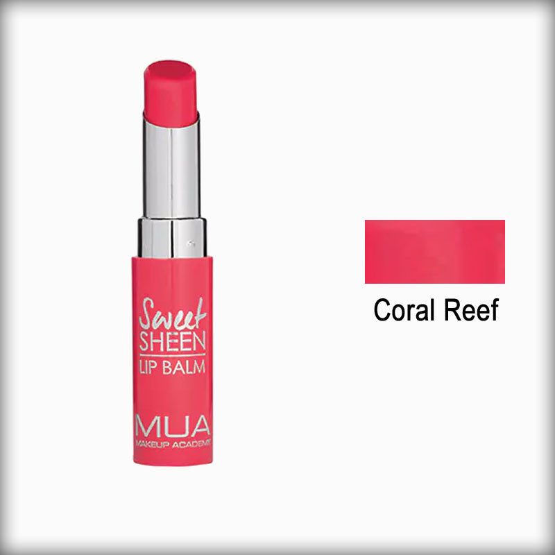 MUA Sweet Sheen Lip Balm Coral Reef