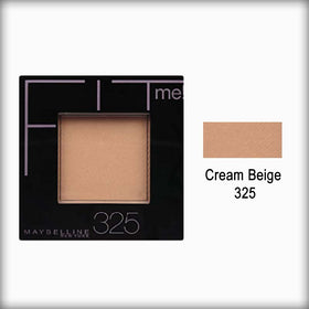 325 Cream Beige Fit Me! Pressed Powder - Maybelline