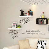 Touchwood Interior Creative Floating Wall Shelf