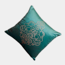 Beautiful Velvet Cushion cover, Latest Design Cushion Cover - HomeBazar.pk - 1