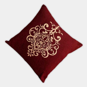 Decorative Cushion Cover / Home Decor Square Cushion Case / Luxury Velvet Cushion Cover - HomeBazar.pk - 1