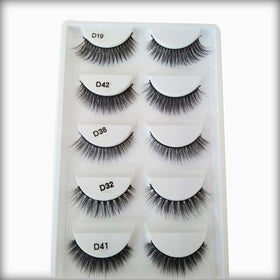 Custom 3D Mink False Eyelashes