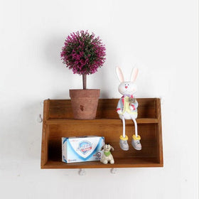 Touchwood Interior Decoration Wooden Shelf