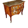 Touchwood Interior Wall Console With Marble Top