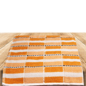 Egyptian Cotton Towel Orange Set of 2