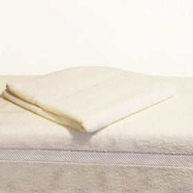 Egyptian Cotton Towel White Set of 2