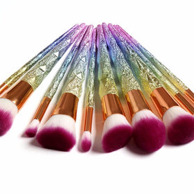 10PCS Fantasy Unicorn Professional Makeup Brushes - Homebazar-pk4