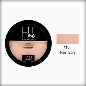 Maybelline Fit Me Pressed Powder 110 Porcelain