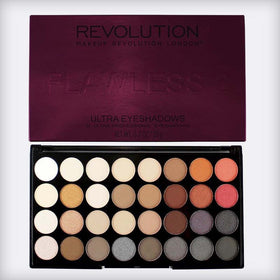 Flawless 2 Ultra 32 Shade Eyeshadow Palette - Makeup Revolution