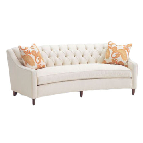 Touchwood Interior Flores Design Curved 3 Seater Sofa