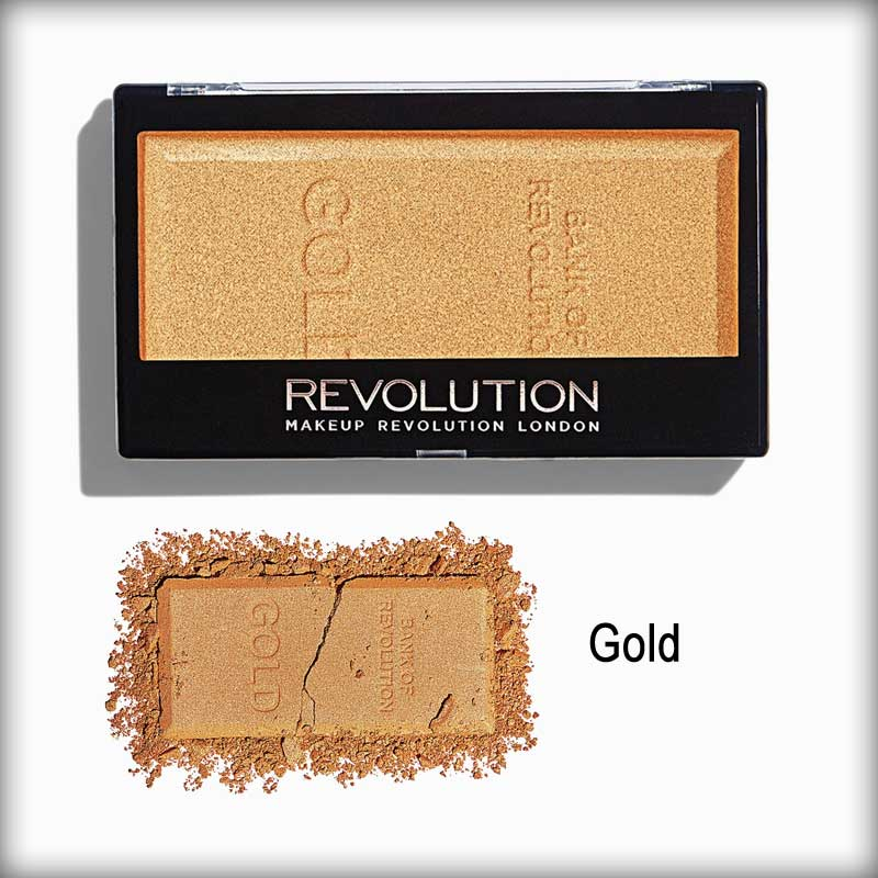 Gold Ingot Highlighter - Makeup Revolution