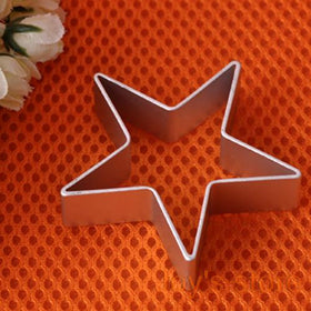 Star Shaped Aluminium Mold Sugarcraft Biscuit Cookie