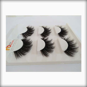 (3 Pair) HomeBazar Silk Eyelashes