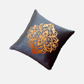 1PCS 16'' X 16'' Abstract geometric  Polyester cotton Cushion cover for Home Chair sofa Decor - HomeBazar.pk