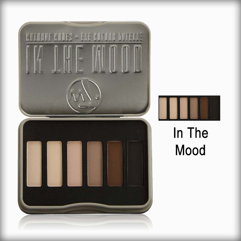 W7 EYE Shadow kit Tin - In The Mood