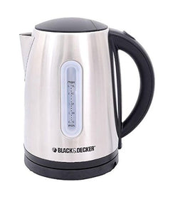 JC-400-Cancealled-Steel-Body-1.7-L-Black-&-Decker-Kettle-2200-Watt