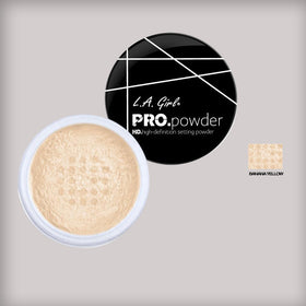 L.A. Girl Banana Yellow Pro Powder HD Setting Powder