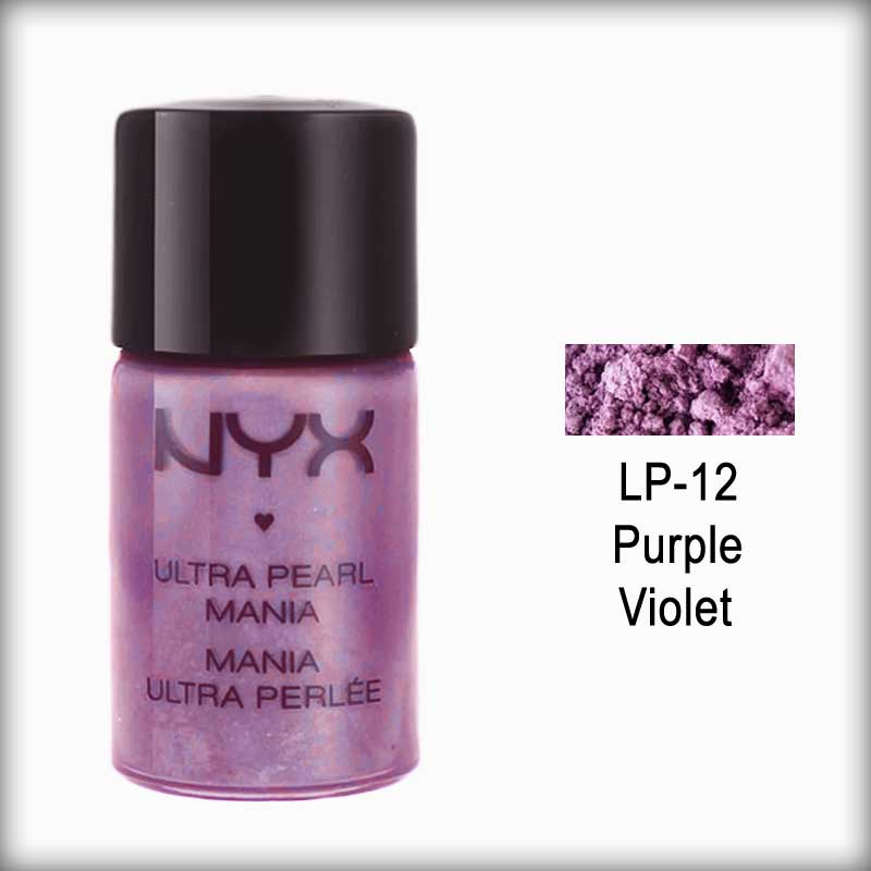 NYX Loose Pearl Eyeshadow - LP12 Purple Violet
