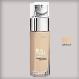 L'Oreal Paris True Match Liquid Foundation 2.N Vanilla