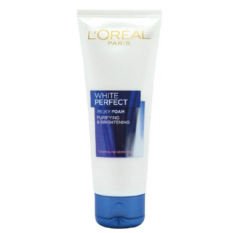 L'Oreal Paris White Perfect Purifying & Brightening Milky Foam Face Wash