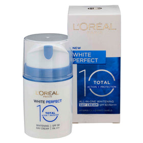 L'Oreal Paris White Perfect Total 10 Whitening Day Cream SPF30 50ml