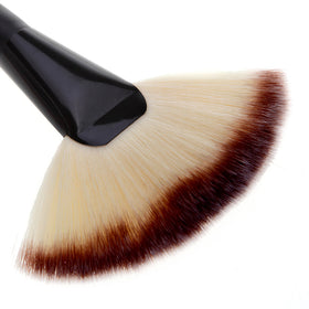 Large Fan Soft Makeup Brush for Foundation Blush Blusher Powder Highlighter Highlighting Powder brushes Cosmetic beauty tool
