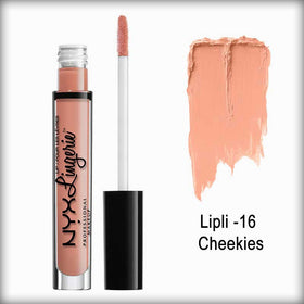 NYX Lip Lingerie Liquid Lipstick - Cheekies