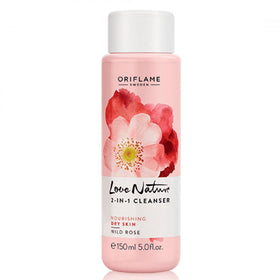 Love Nature 2In1 Cleanser Wild Rose