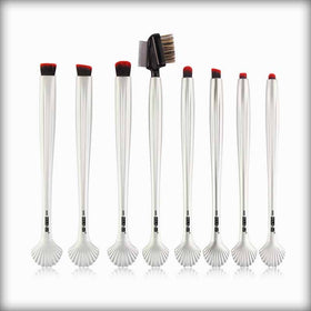 MAANGE Shell Makeup Brush Kits Maquillage New 8pcs