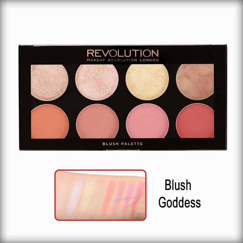 Makeup Revolution Blush Palette - Blush Goddess