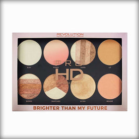 Makeup Revolution Pro HD Highlighter Palette Brighter Than My Future