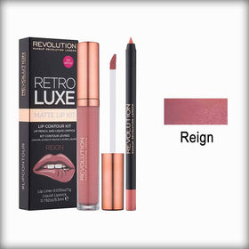 Makeup Revolution Retro Luxe Kit Matte Reign