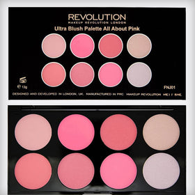 Makeup Revolution Blush Palette All About Pink