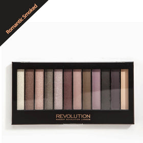 Makeup Revolution Romantic Smoked Eyeshadow Palette
