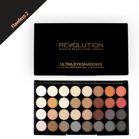 Makeup Revolution Ultra 32 Shade Flawless 2 Eyeshadow Palette
