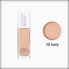 Maybelline Superstay Foundation 24 Hour 10 Ivory