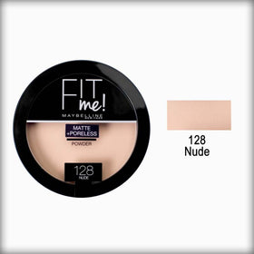 Maybelline Fit Me Matte + Poreless Powder 128 Nude